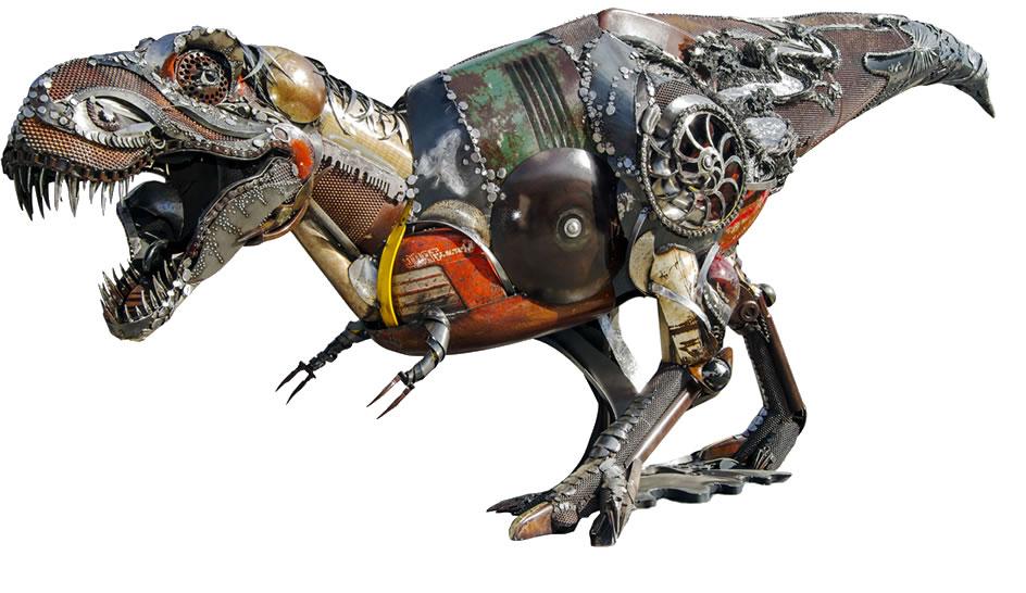 Scrap Metal T-Rex