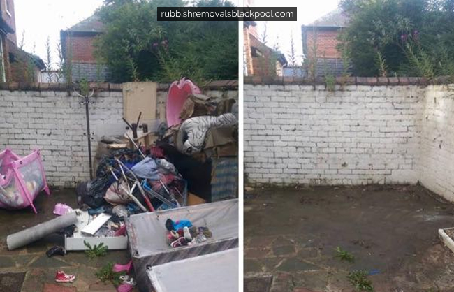 Before & After Rubbish Removal